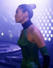 64b136f9f463 Irina Pantaeva as Jade in the film Mortal Kombat  Annihilation. She  enthused in a 1997 interview with Femme Fatales magazine