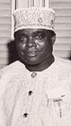 First Nigerian Republic - Image: Jaja Wachuku 01