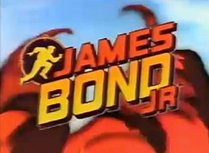 James Bond Jr. - Title card