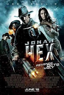 <i>Jonah Hex</i> (film) 2010 film by Jimmy Hayward
