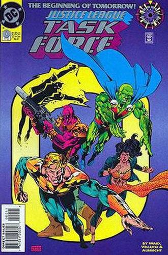 Justice League Task Force (comics) - Image: Justice League Task Force.0