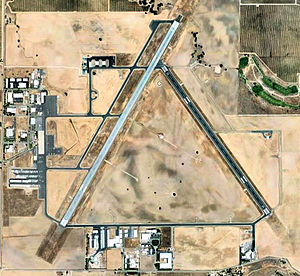 Paso Robles Municipal Airport - Aerial photo of KPRB, July 2007