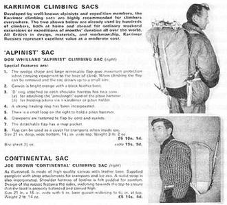 Karrimor - Image: Karrimor rucksack advert