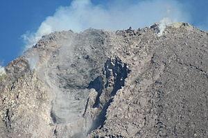 Merapi Volcano January 27, 2007.