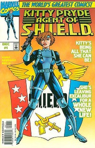 Kitty Pryde, Agent of S.H.I.E.L.D. - Cover to the first issue