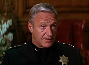 John Larch - Larch, playing the Chief of Police in the film Dirty Harry, 1971