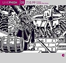 Viver Phish Volume 8 (capa do álbum) .jpg