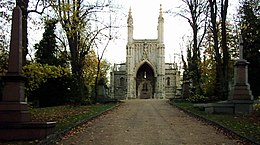 London Nunhead Cemetery Entrance.JPG