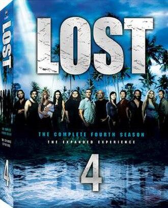 Lost (season 4) - Image: Lost S4 DVD