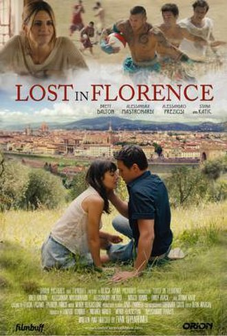 Lost in Florence - Theatrical release poster