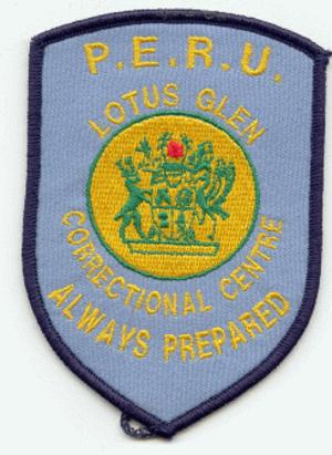 Lotus Glen Correctional Centre - Image: Lotus Glen Guard Badge