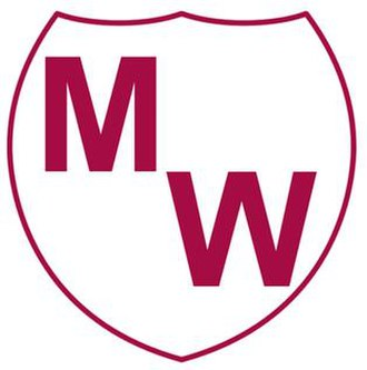 Manly Warringah Sea Eagles - The first Manly Warringah logo, which appeared in the early 1950s.