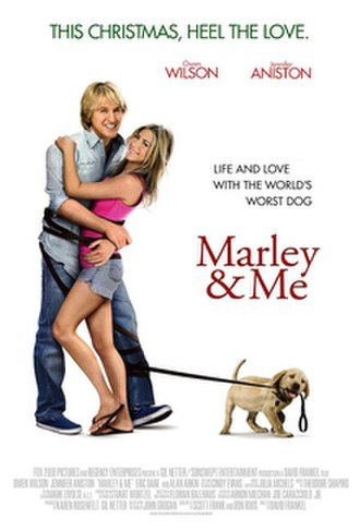 Marley & Me (film) - Theatrical release poster