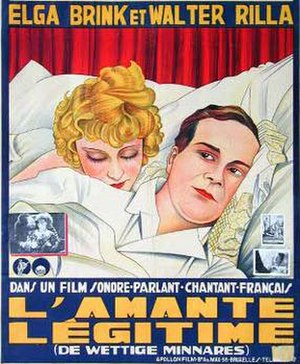 Marriage in Trouble - French-language poster