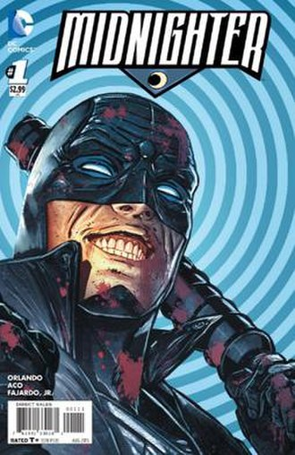 Midnighter (2015 comic book) - Image: Midnighter 1 cover