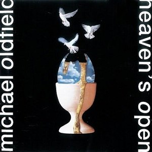 Heaven's Open - Image: Mike oldfield heavens open album cover