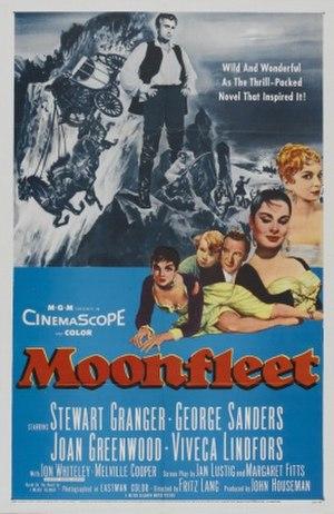 Moonfleet (1955 film) - Image: Moonfleet poster