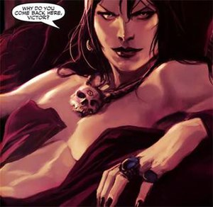 Morgan le Fay (Marvel Comics) - Morgan le Fay. Art by Marko Djurdjevic.