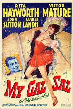 My Gal Sal - Original Poster