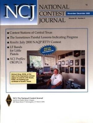 National Contest Journal - National Contest Journal cover, Nov./Dec., 2000.