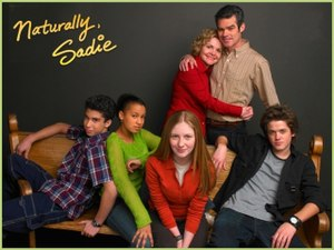 Naturally, Sadie - The main characters of Naturally, Sadie (from left to right), Rain, Margaret, Sadie, Jean, Walter, and Hal.