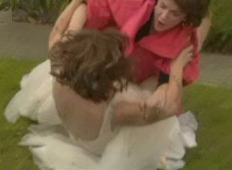 Rebecca Robinson (Neighbours) - Rebecca and Lyn Scully fight on Ramsay Street (2009)
