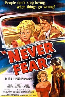 <i>Never Fear</i> 1950 film by Ida Lupino