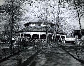Norumbega Park - Image: Norumbegapark carousel
