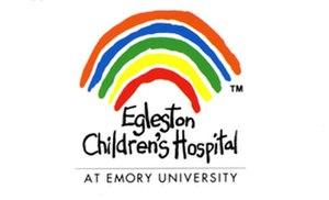 Henrietta Egleston Hospital for Children - Old Rainbow Lego of Egleston prier to 1998 merger becoming Children's Healthcare of Atlanta.