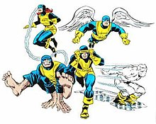 Image result for five decades of the x-men