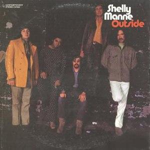 Outside (Shelly Manne album) - Image: Outside (Shelly Manne album)