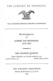 Paganini Quartet