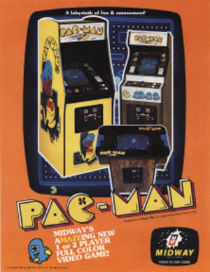 Pac-Man - North American flyer