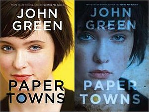 Paper Towns - Image: Paper Towns covers