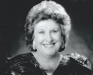Peggy O'Keefe - Image: Peggy O'Keefe at the Showbiz Ball 1994