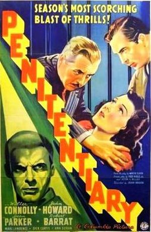 Penitentiary (1938 film) - Theatrical release poster