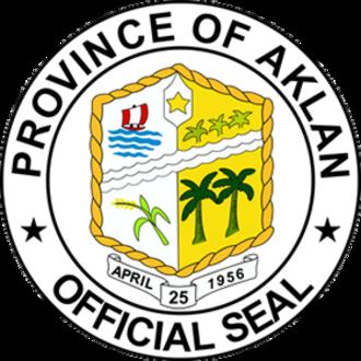 Aklan - Image: Ph seal aklan