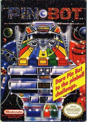Pin Bot (video game) - Cover art