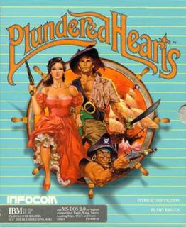 <i>Plundered Hearts</i> 1987 video game