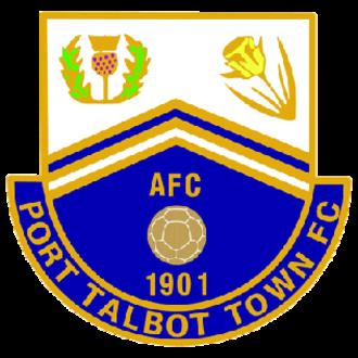 Port Talbot Town F.C. - Image: Port Talbot Town FC logo