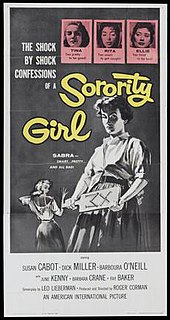 <i>Sorority Girl</i> 1957 film by Roger Corman