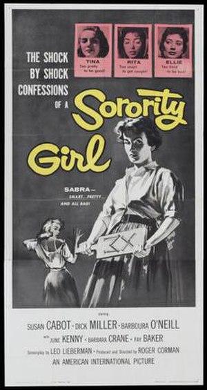 Sorority Girl - Film poster by Albert Kallis