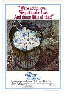<i>The Happy Ending</i> 1969 film by Richard Brooks