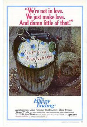 The Happy Ending - Theatrical release poster