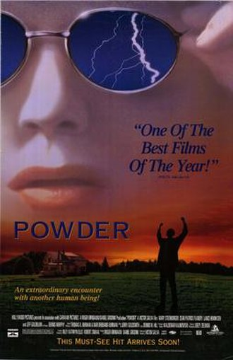 Powder (film) - Theatrical release poster