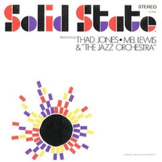 Presenting Thad Jones/Mel Lewis and the Jazz Orchestra - Image: Presenting b Thad Jones Mel Lewis And The Jazz Orchestra