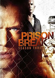 Prison Break - Season 3 (2007) TV Series poster on Ganool