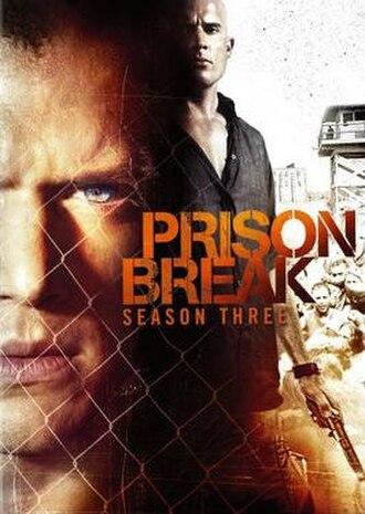 Prison Break (season 3) - DVD cover