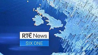 RTÉ News: Six One - Image: RTE News Six One open 2019