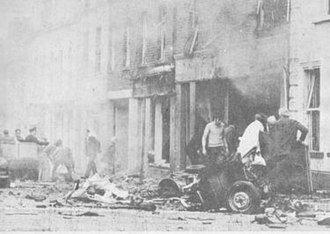 1973 Coleraine bombings - Aftermath of the lethal Railway Road bomb
